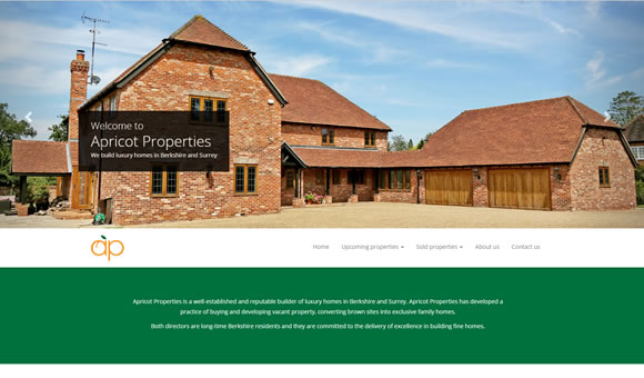 Apricot Properties - Berkshire & Surrey house builder